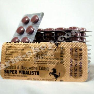 Сиалис Дапоксетин | Тадалафил 20мг  Дапоксетин 60мг |<strong>Super Vidalista</strong>