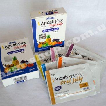 Сиалис   Тадалафил   Apcalis SX   Oral Jelly