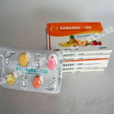 Виагра | Силденафил 100мг | <strong>Kamagra Chewable</strong>