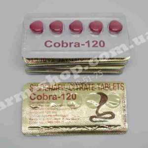 Cobra 120mg (Виагра 120) НОВИНКА