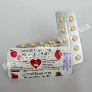Snovitra Soft | Варденафіл 20 мг